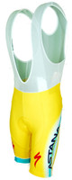 2014 Astana Yellow Tour De France Champion Bib Shorts Front