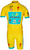 2014 Astana Yellow Tour De France Champion Jersey Front