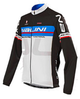 Nalini Ti Long Sleeve Black Blue Jersey