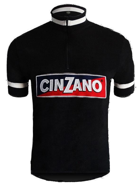 Cinzano Wool Black Retro Jersey
