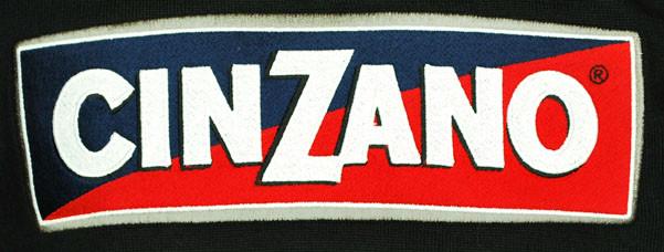 Cinzano Wool Black Retro Jersey Closeup