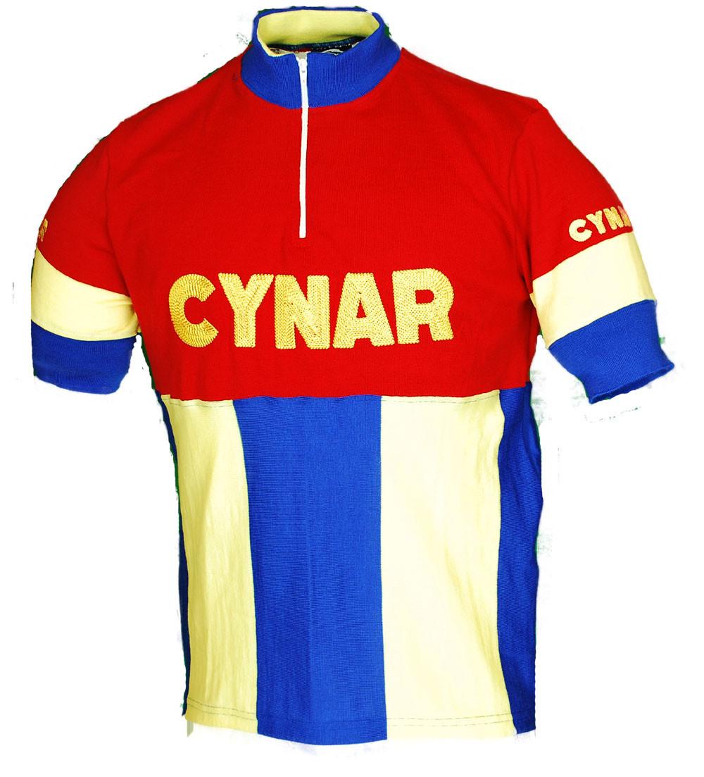 Cynar Wool Retro Jersey Front