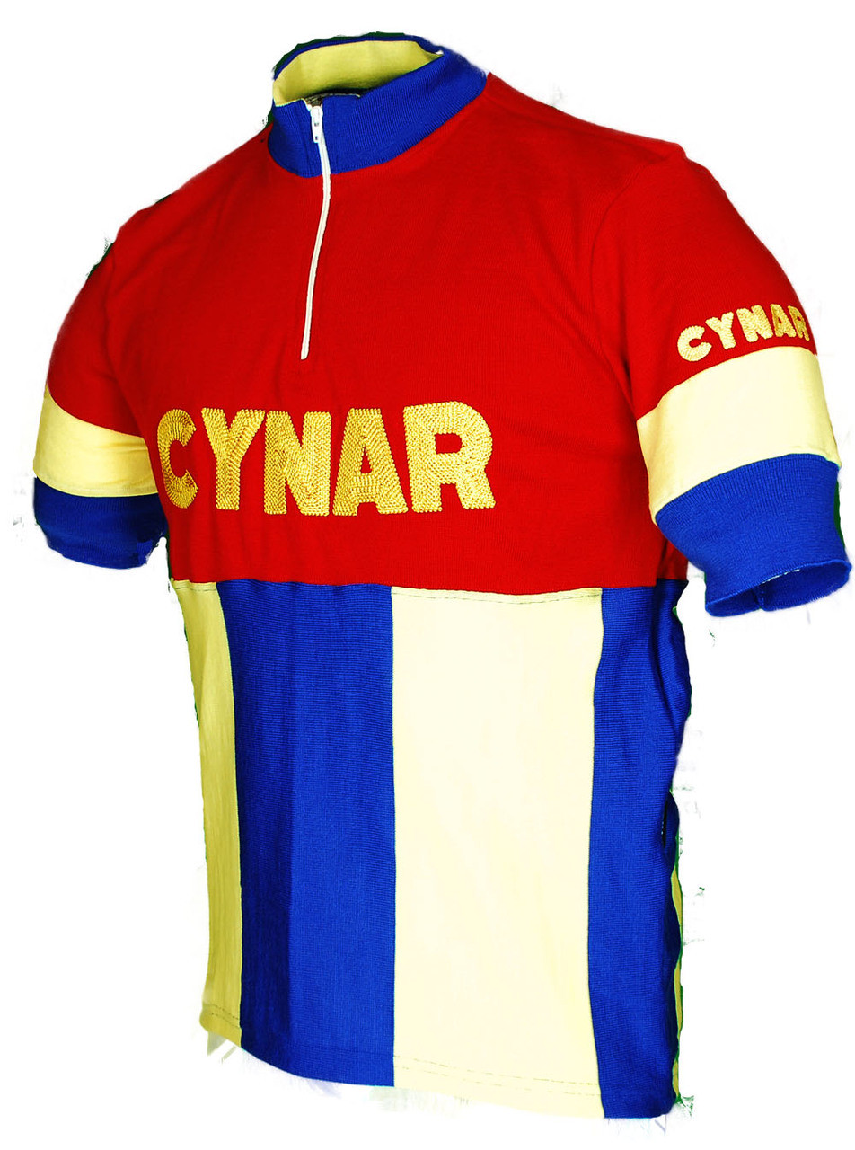 Cynar Wool Retro Jersey Side