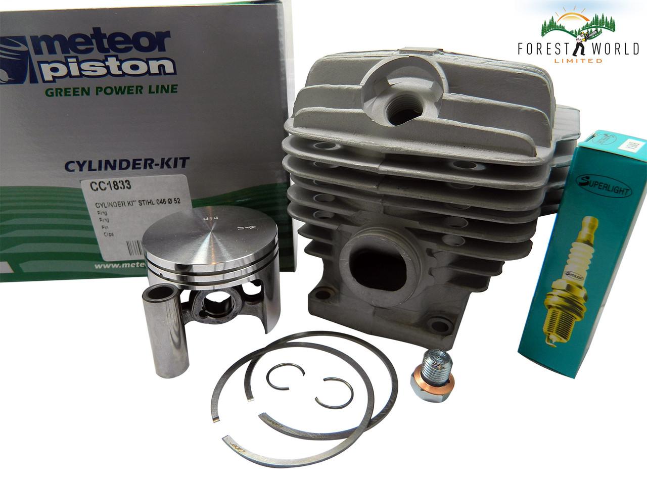 MS460 Cylinder Kit Stihl 046 Cylinder /& Piston Rebuild Kit New aftermarket