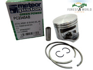 Stihl MS 201,MS 201T piston kit,40 mm,Made in Italy by METEOR,OEM quality