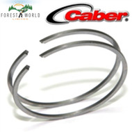Stihl FS 220,FS 350 piston rings,38 x1,5 x 1,6 ,Made in Italy by CABER(METEOR)