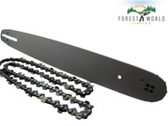 "15"" Guide Bar & Chain Fits HUSQVARNA 40 45 154 50 51 55 242 254 .325 058(1.5mm)"