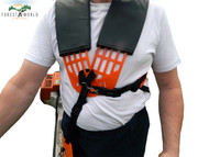 Strimmer/brushcutter comfortable double breasted harness,fits STIHL,HONDA,KAWASAKI others