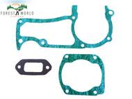 Muffler / Cylinder / Crankcase Gasket kit For Husqvarna 362 365 371 372 372XP