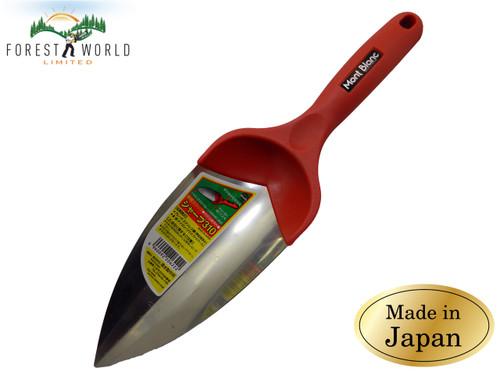 Japanese MONT BLANC Gardener's Transplanter Trowel Tool Stainless steel sharp
