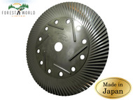 Japanese TOMITA strimmer brushcutter blade,remove weed grass moss off concrete