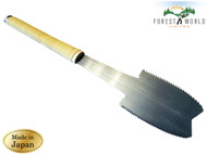 Japanese HISHIKA Azebiki carpenter saw,90 mm blade,double edge