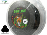 SIAT Professional TWISTED SILENT Strimmer line,2,4 mm,BLACK STORM,MADE IN ITALY