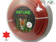 SIAT Heavy Duty Professional ALU Strimmer line,3,3 mm,STAR shaped,MADE IN ITALY