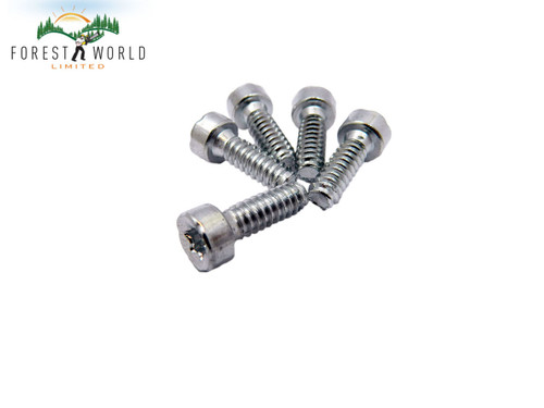 Stihl Chainsaw self tapping Screws x 5 ,size P6 x 19 mm