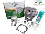 Cylinder kit,44 mm for STIHL 026 MS 260,NiSiC coated,by FOREST WORLD,11210201203