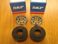 SKF crank crankshaft bearings and oil seals for Husqvarna 340 345 350 OEM 503 93 23 02,738 22 02-25