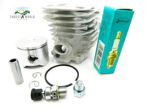 HUSQVARNA 51 chainsaw cylinder & piston kit,45 mm,also fits Husqvarna 50