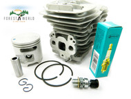 HUSQVARNA 570,575xp chainsaw cylinder & piston kit,51 mm