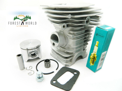 HUSQVARNA 350 chainsaw cylinder & piston kit,44 mm,also fits 340,345,High type