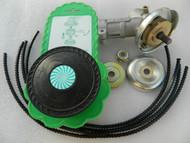 Strimmer brushcutter gearbox/gearhead 26 mm diam.,7 spline,Oregon Flexiblade PEJO universal strimmer head,made in Europe,included