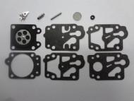 Walbro K10-WYB Carburetor Repair Rebuild Overhaul Kit,Honda Gx25 GX35,Kawasaki