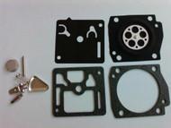 Zama RB-31 Carburetor Repair Rebuild Overhaul Kit,Stihl 034,036,MS340,360