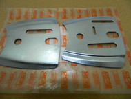 Husqvarna 266 61 268 2100 272 162 guide bar plates x 2, 501444401 & 501444501 Quality aftermarket spare parts,made in Europe