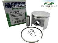 Husqvarna 266,268 Closed version piston kit,50 mm,Made in Italy by METEOR