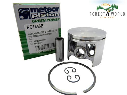 Husqvarna 268,268S,268K piston kit,50 mm,503 44 83 71,Made in Italy by METEOR