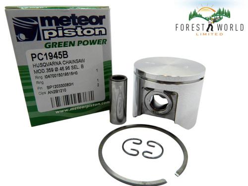 Husqvarna 359,357xp piston kit,47 mm,576 47 22 02,Made in Italy by METEOR