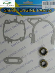 Stihl TS 410,TS 420 cut off saw gasket set ,oil seals included,4238 007 1003