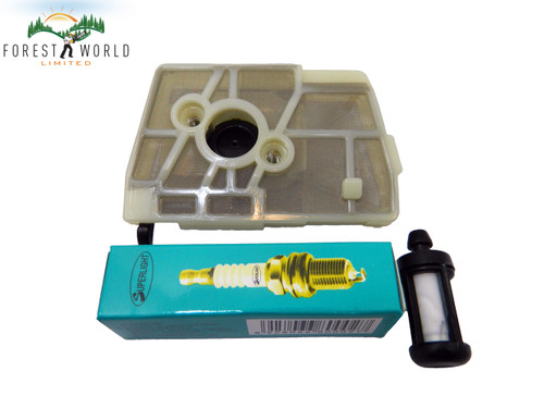 Stihl 028 028AV 028 Woodboss air & fuel filter,service kit,plug,1118 120 1600