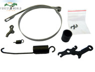 Stihl MS660 066 MS650 chainbrake band,lever,tension spring ,handbrake kit
