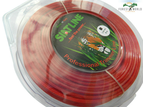 SIAT Heavy Duty Professional ALU Strimmer line wire,2,4 mm, SQUARE