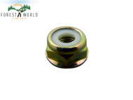 Blade nut to fit varius brush cutter strimmer trimmer,size M10 X 1.25 LH