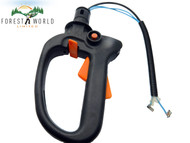 Stihl HS81 HS81R HS81T hedge trimmer hedgecutter rear throttle handle control