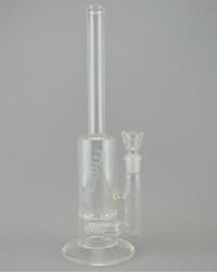 JM FLOW - Gridded Stemline to Turbine Perc w/ 18mm Female Joint & Slide - 60mm (Straight)