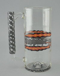 SGW - Worked Wig-Wag Beer Glass Mug - #6