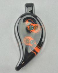 ADAM ENGLESON - Paisley Millie Glass Pendant - #4