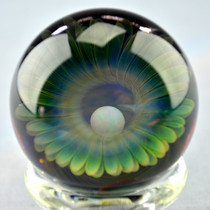 SCOZ Glass - Opal and Fume Marble w/ Dot-stack Backing