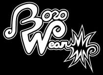 "BOROWEAR - ""Boro Wear"" Signature Logo Tee - Black"