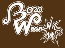 "BOROWEAR - ""Boro Wear"" Signature Logo Tee - Brown"