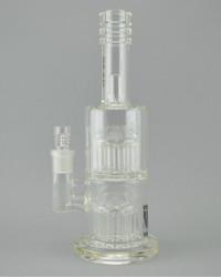 MAV - Double Chamber Tree Perc Tube w/ 18mm Female Joint & Slide