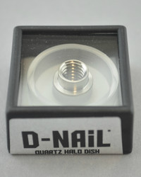 D-NAIL - Quartz HALO Dish for E-Nail Vaporizers
