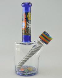 CAP'N CRUNK - Millie Cluster Mini Tube w/ 14mm Fixed 3-hole Diffy & Slide - #4