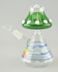 """CRUSH - Flying Saucer """"UFO"""" Dab Rig w/ 14mm Dome & Nail - #2"""