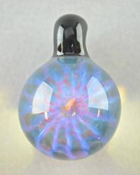 ID Glass - Honeycomb Pendant - #5