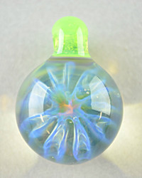 ID Glass - Honeycomb Pendant - #7