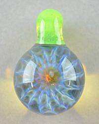 ID Glass - Honeycomb Pendant - #10
